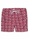 Men's Short Classic Fit Swim Shorts Tropez 8 Red