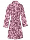 Women's Dressing Gown Brindisi 48 Pure Silk Satin Pink