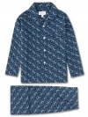 Kids' Pyjamas Ledbury 15 Cotton Batiste Navy