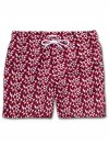 Men's Classic Fit Swim Shorts Tropez 8 Red