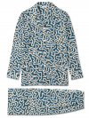 Men's Classic Fit Pyjamas Ledbury 28 Cotton Batiste Ocean
