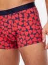 Men's Hipster Heart Pima Cotton Stretch Red