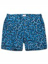 Men's Modern Fit Swim Shorts Maui 21 Blue