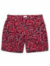 Men's Modern Fit Swim Shorts Maui 21 Red