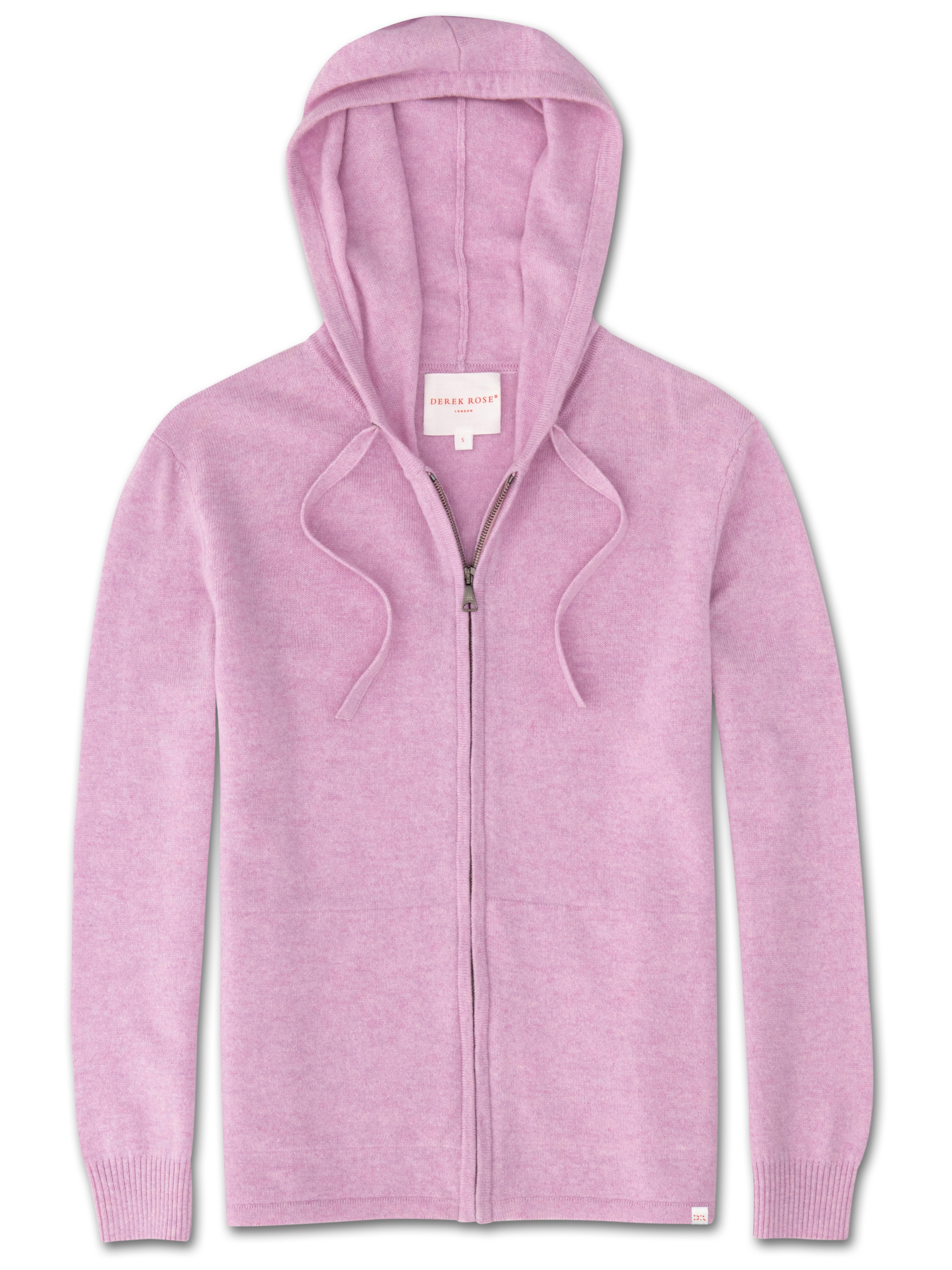 Women's Cashmere Hoodie Finley Pure Cashmere Lilac