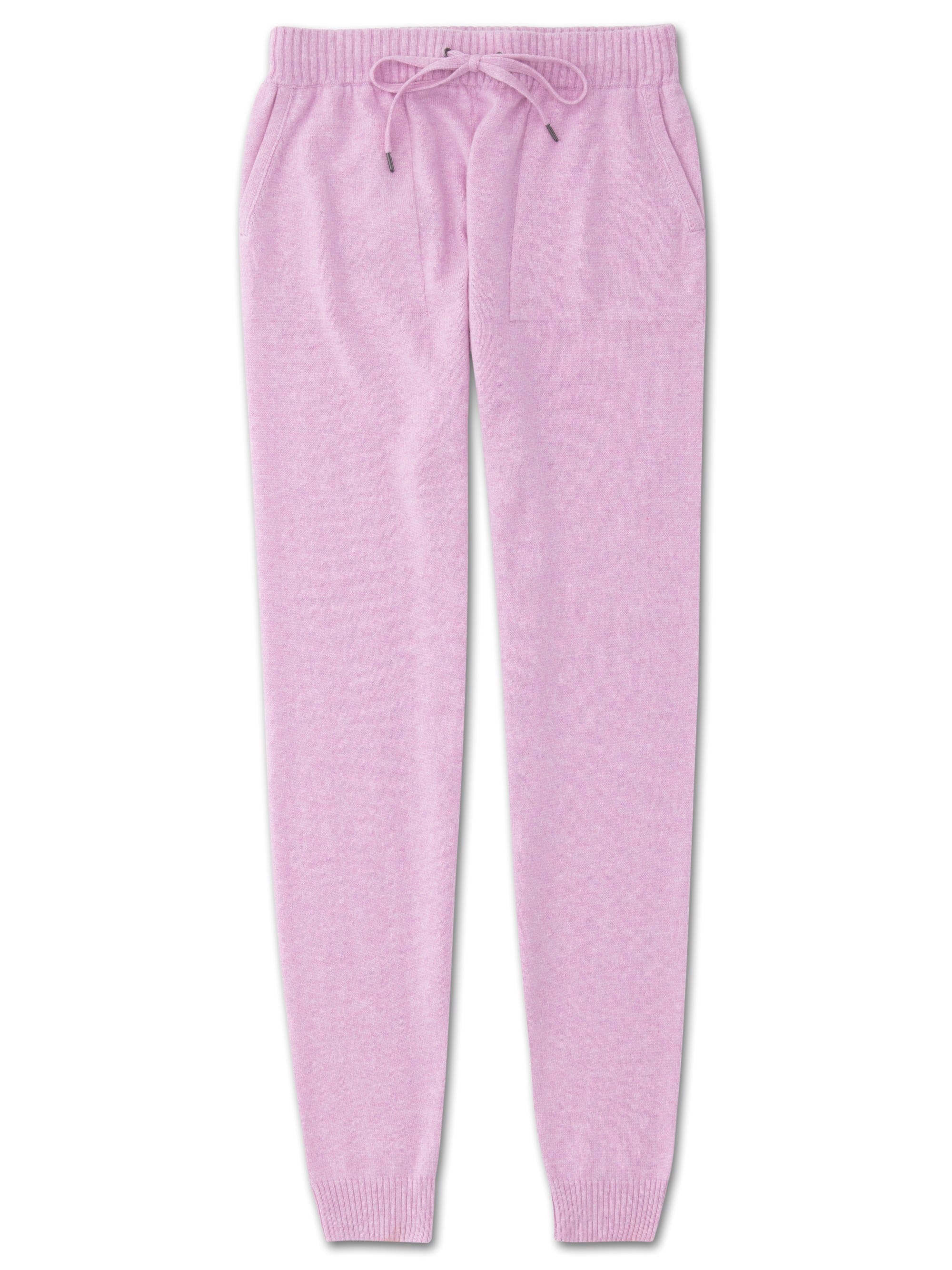 largest selection of 2019 purchase genuine on feet at Women's Cashmere Track Pants Finley Pure Cashmere Lilac