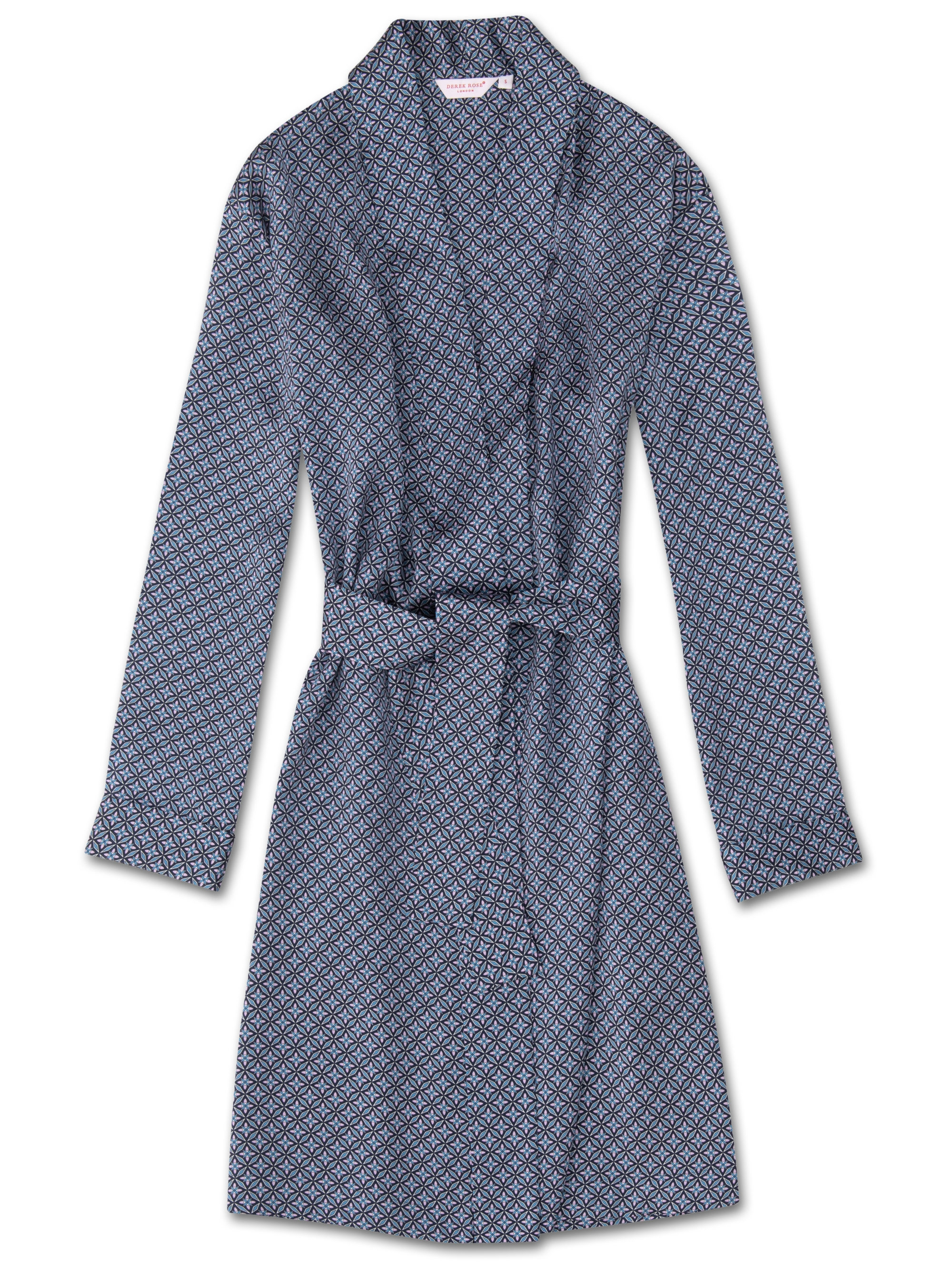 choose original hot-selling cheap highly coveted range of Women's Dressing Gown Brindisi 37 Pure Silk Satin Lilac