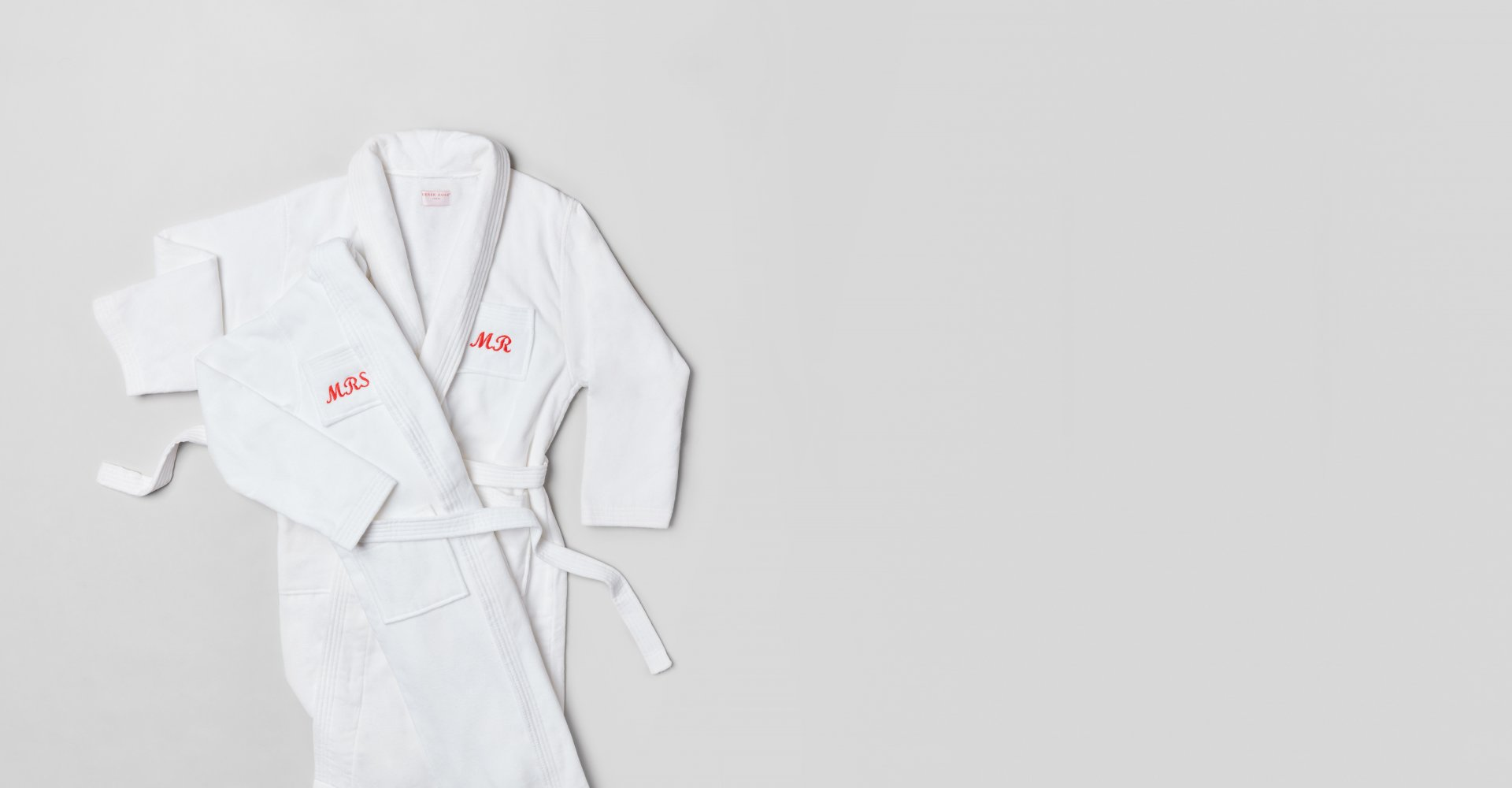 Mr and Mrs Monogrammed Robes