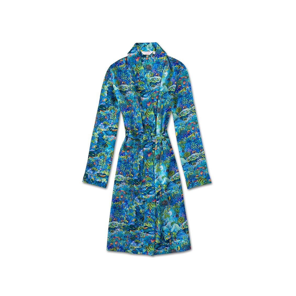Women's Dressing Gown Brindisi 24 Silk Multi