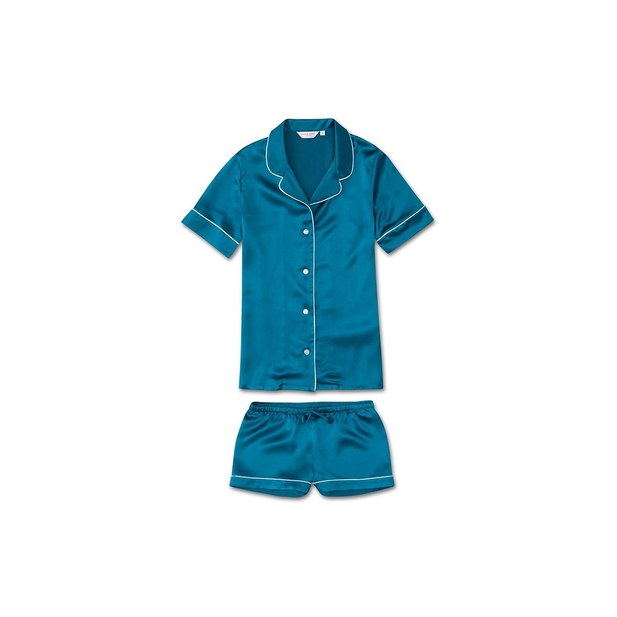 Women's Shortie Pyjamas Bailey Teal