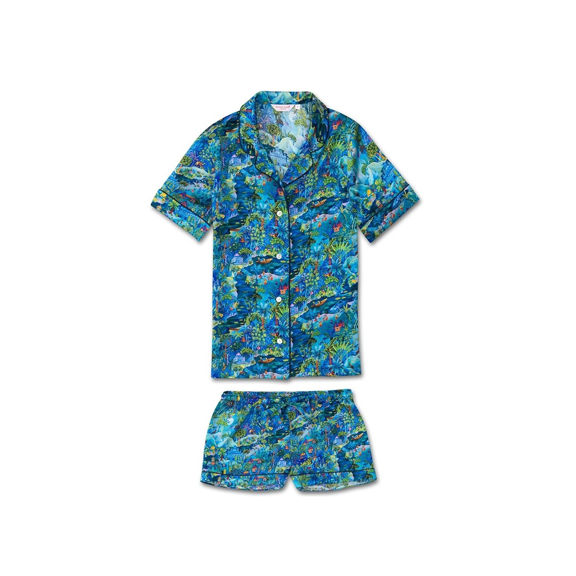 Women's Shortie Pyjamas Brindisi 24 Silk Multi